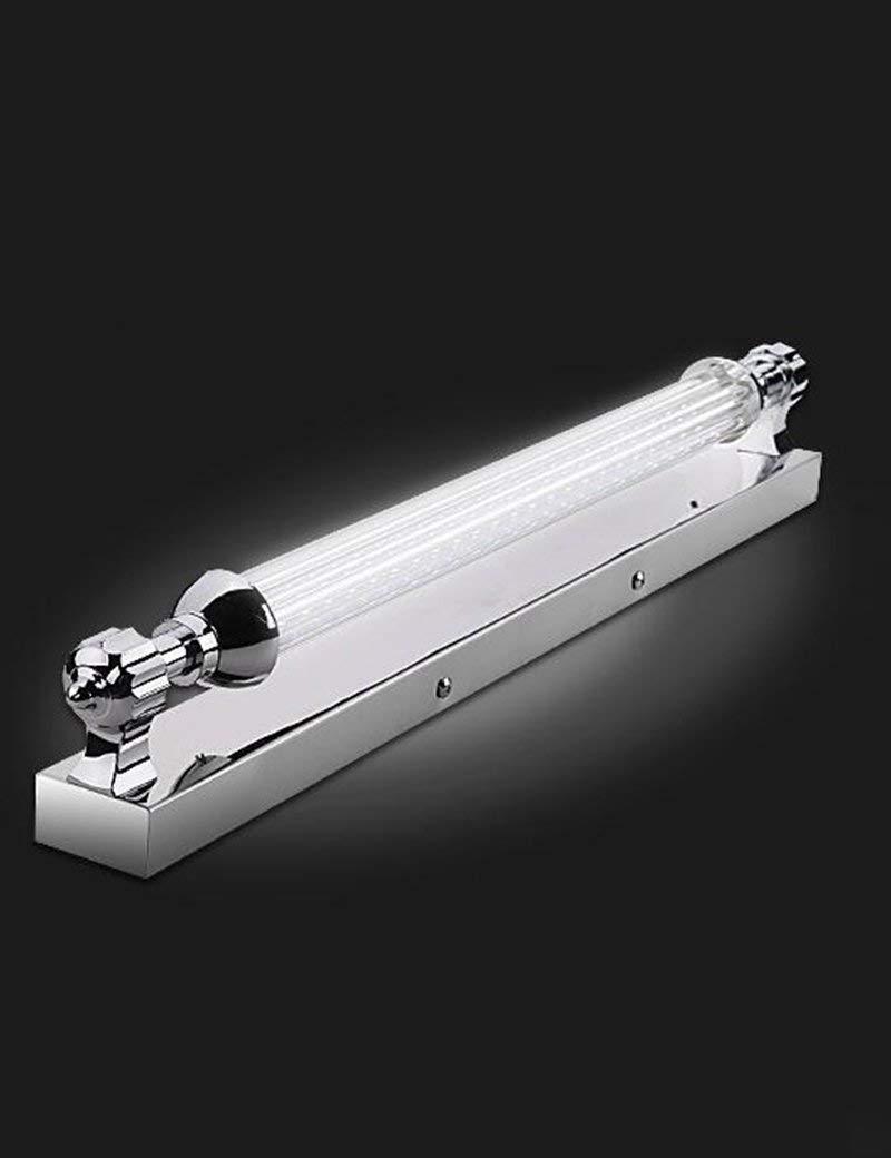 Fenciayao バスミラーランプ - ledステンレススチール防水ラストミラーフロントライトシンプルモダンバスルームミラーフロントライト - メイクアップミラーヘッドライト (Color : 2)  2 B07S1L84YR