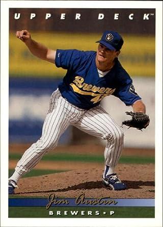 Amazoncom 1993 Upper Deck Baseball Card 787 Jim Austin