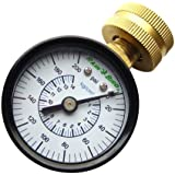 "Rain Bird P2A Multi-Purpose Pressure Gauge, 3/4"" Female Hose Thread, 0-200 PSI"