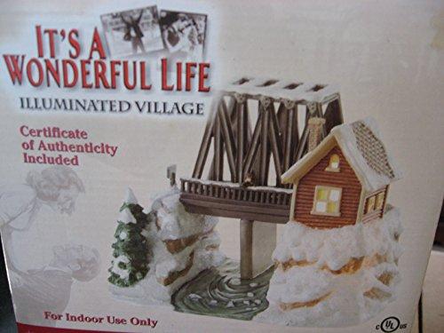 It's a Wonderful Life Illuminated Village Series II The Bedford Falls Bridge (Wonderful Life Village)