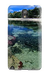 Tpu Case For Galaxy Note 3 With Beach