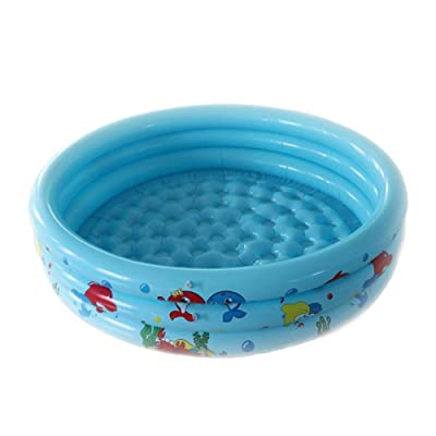 Per Newly Inflatable Pool Toy, Durable Plastic Kiddie Pool, Swimming Pool Water Toy for Kids: Home & Kitchen