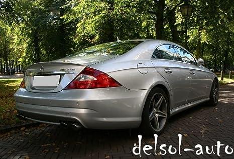PSI Mercedes-Benz C-Class 4-Door Sedan AMG Style Trunk Spoiler 040 Black