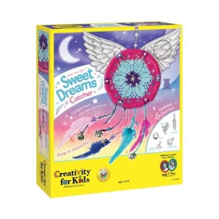 51FoRAHNpVL - Creativity for Kids Make Your Own Sweet Dreams Catcher Weaving Kit