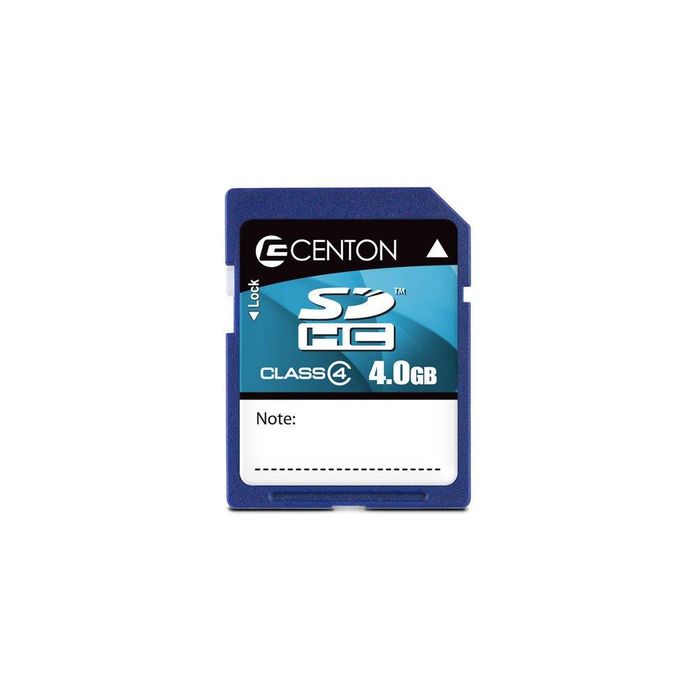 Centon Class 4 (4 MB/S) SDHC 4 GB Flash Card RC4GBSDHC4 (Blue)