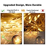 MoKo-LED-Curtain-String-Lights-Outdoor-Waterproof-Lights-Remote-Control-8-Lighting-Modes-with-AC-Power-Adapter-for-Bedroom-Living-Room-Party-Wedding-Decoration-300PCS-LED-Warm-White