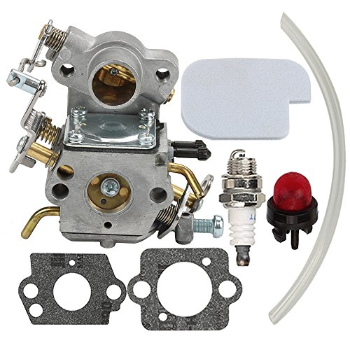 Top Hilom Carburetor with Air Filter Spark Plug for Poulan Craftsman Zama C1M-W26C 545070601 545040701 530035590 Chainsaw P3314 P3314WS PP3516 P3416 P4018 supplier