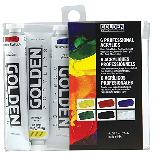 acrylic paint color chart - 2