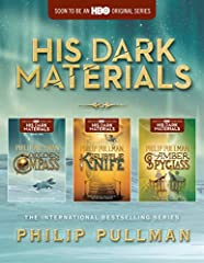 HIS DARK MATERIALS IS SOON TO BE AN HBO ORIGINAL SERIES STARRING DAFNE KEEN, RUTH WILSON, JAMES McAVOY, AND LIN-MANUEL MIRANDA! The Golden Compass, The Subtle Knife, and The Amber Spyglass are available together in one volume perfect for any ...