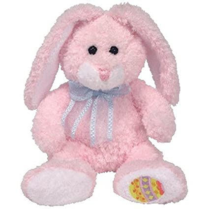 Amazon.com  TY Beanie Baby - HIPPILY the Pink Bunny (Hallmark Gold ... ca1a56bfefb