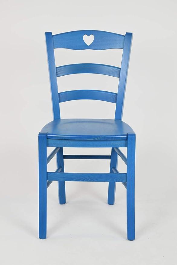 Tommychairs sedie di design - Set 2 sedie classiche CUORE per cucina ...
