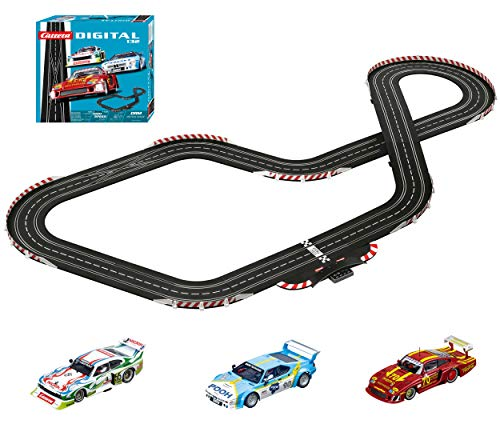 Carrera Digital 132-DRM Retro Race Circuito de Coches (20030002): Amazon.es: Juguetes y juegos