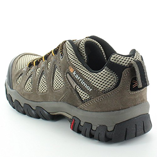 Karrimor Mens Aerator Suede & Mesh Breathable Summer Walking Shoes Taupe