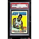 1971 Topps # 30 Willis Reed New York Knicks (Basketball Card) PSA 7 - NM Knicks.