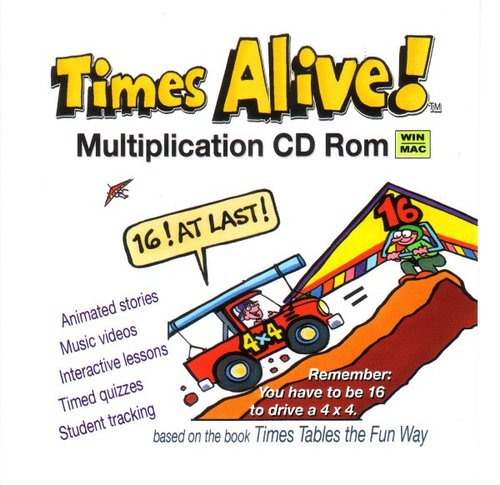 Times Alive: Multiplication CD/ROM (Times Tables the Fun Way ...