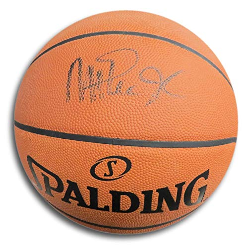 Magic Johnson Signed Autographed Official NBA Game Basketball Lakers JSA DD73531 ()