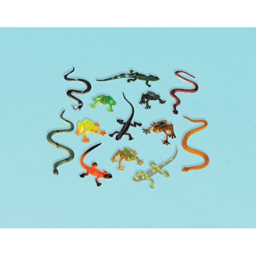 Assorted Reptile Favors (12 ct) ()