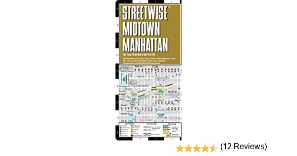 Streetwise Midtown Manhattan Map - Laminated City Street Map ... on city of troy ny map, city of ithaca ny map, city of brooklyn ny map, city of new rochelle ny map, city of nassau county ny map, city of newburgh ny map, city of jamestown ny map, city of yonkers ny map, city of watertown ny map, city of ogdensburg ny map, city of syracuse ny map, city of manhattan ks map, city of scarsdale ny map, city of hudson ny map, city of amsterdam ny map, city of kingston ny map, city of lockport ny map,