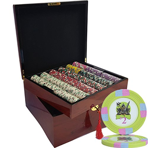 MRC 750pcs Knights 750pcs Casino Poker ChipsセットwithハイGloss木製ケースカスタム構築 B07DM6CY87 MRC B07DM6CY87, 【楽天カード分割】:6bbab957 --- 2017.goldenesbrett.net