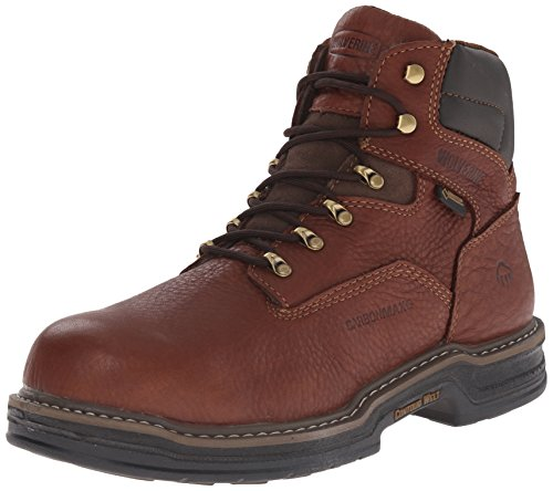 Wolverine Men's Raider GTX 6'' Nano Toe Contour Welt Work Boot, Café, 10.5 M US by Wolverine