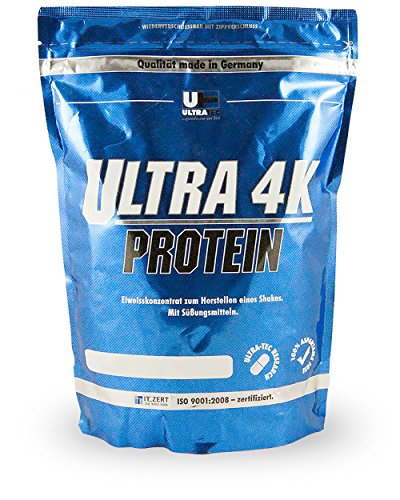 Ultra Tec Protein, Eiweiss 4K, Cocos, 1er Pack (1 x 1 kg)