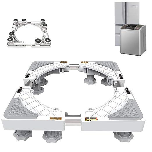XXIOJUN-Lavadora Base Base Multifuncional Ajustable Amortiguadores ...