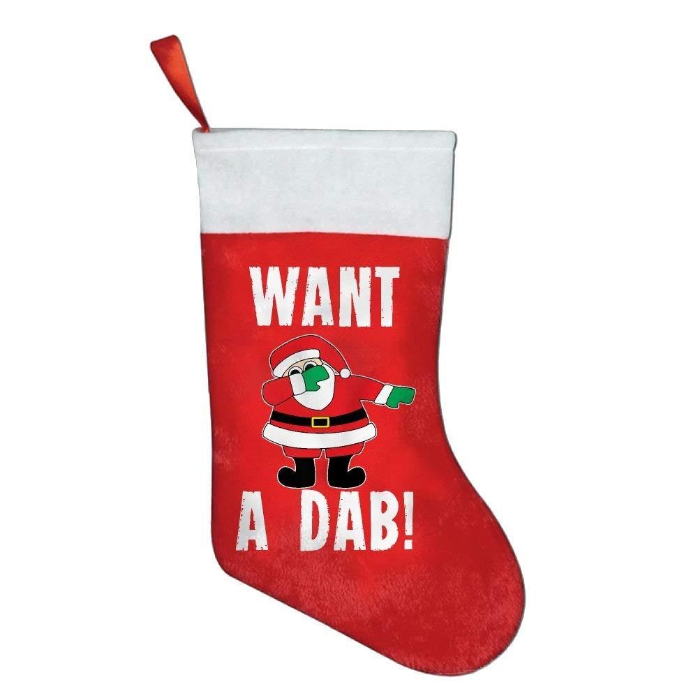 Christmas Dabbing Want A Dab Personalized Christmas Stocking Chery23