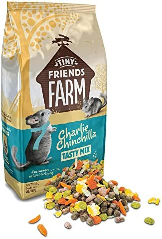 Supreme Petfoods Tiny Friends Farm Charlie Chinchilla Food