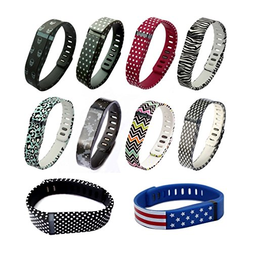 immi Small S Spots Replacement Band With Clasp for Fitbit FLEX Only /No tracker/ Wireless Activity Bracelet Sport Wristband Fit Bit Flex Bracelet Sport Arm Band Armband (1pc Band + 1pc Clasp)