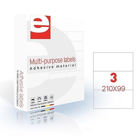 Amazon.com: etilaser 30900053 - Lote de etiquetas (200 hojas ...