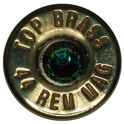 Zombie Killer .44 Rem Magnum Brass Tie Tack (Top Brass)