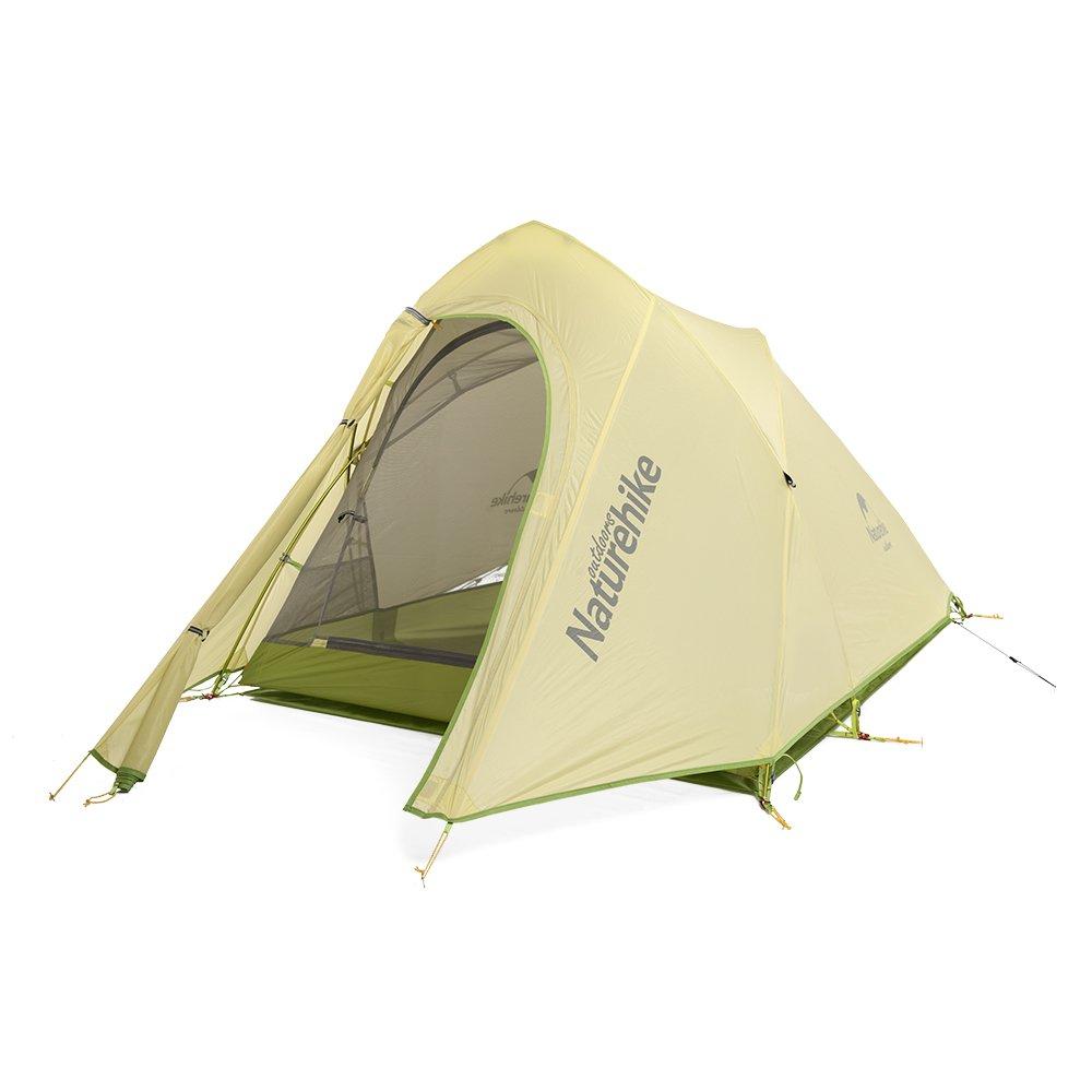 Naturehike Cirrus 2 Personen Zelt 20D Silikon Stoff F doppelten 3 Saison Camping hking Zelt