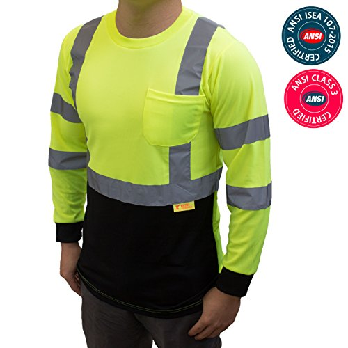 BFL8712 High Visibility Moisture Wicking Birdseye