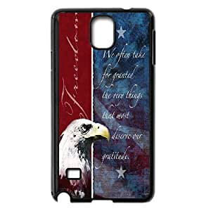 Custom Phone Case American Eagle and Flag For Samsung Galaxy NOTE4 Case Cover APPL8305507
