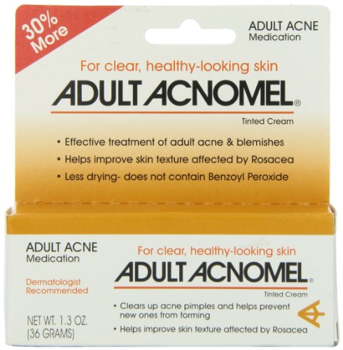 Adult Acnomel Tinted Cream 1.30 oz (Adult Treatment Acne Cream)