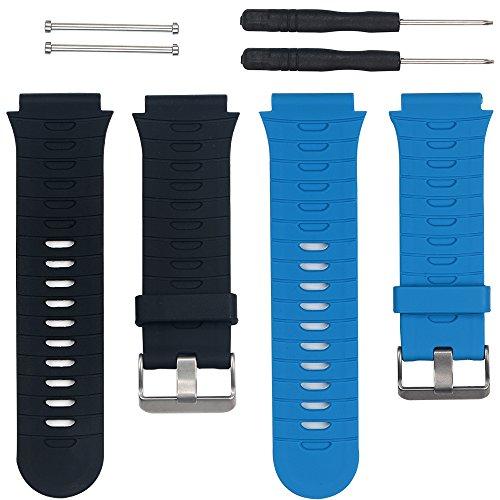 mallas Garmin Forerunner 920XT GPS Running Watch azul+negra