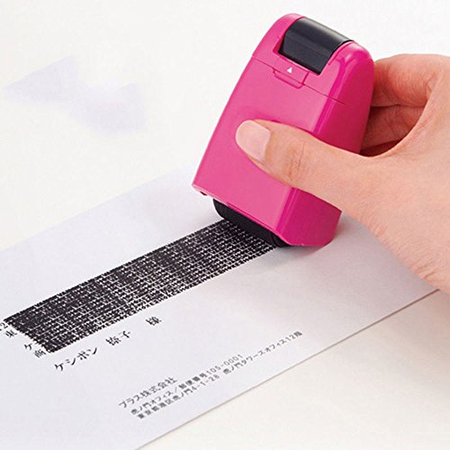 MAZIMARK 1 Plus Guard Your ID Roller Stamp SelfInking Messy Code Security Office Good
