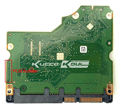 KIMME Hard Drive Parts PCB Logic Board Printed Circuit Board 100535537 for Seagate 3.5 SATA HDD Data Recovery Hard Drive Repair