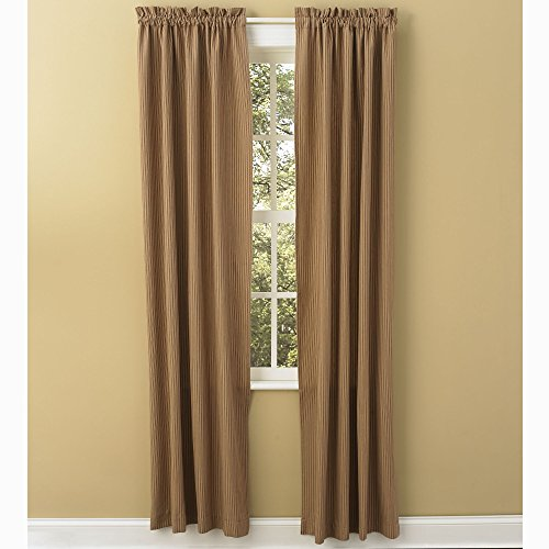 Sturbridge Patch Wine 84 Inch Ticking Panels Review