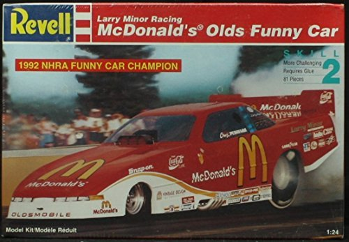 Revell 1:24 Mcdonald's Olds Funny Car Model Kit NHRA 1993 Larry Minor Racing