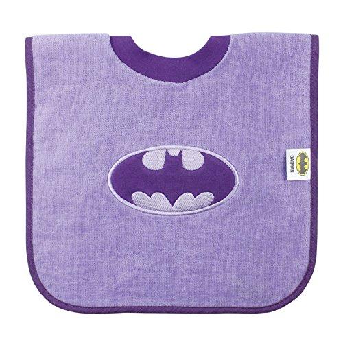 Bumkins Baby Bib, Absorbent Cotton Pullover Bib, DC Comics, Batman (Batman Infant Bib)