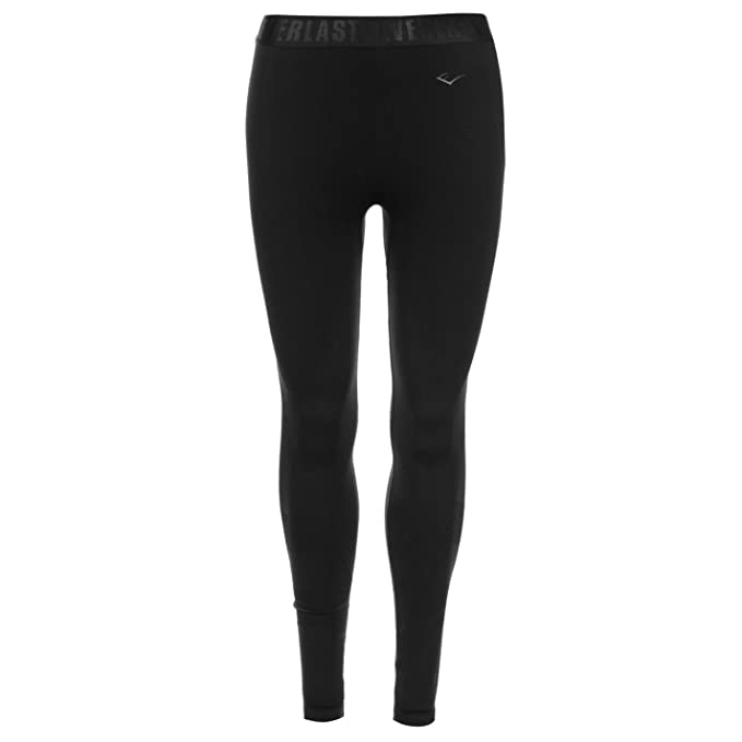 Everlast Femmes Collants sans couture Pantalon de yoga Noir Charcoal ... da3953c1c41