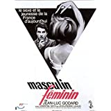 Masculin, Feminin (1966) All Region DVD (Region 1,2,3,4,5,6 Compatible)