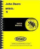 John Deere N Manure Spreader Parts Manual