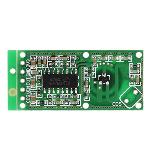 BIlinli Sensor de microondas RCWL-0516 Módulo de Interruptor ...