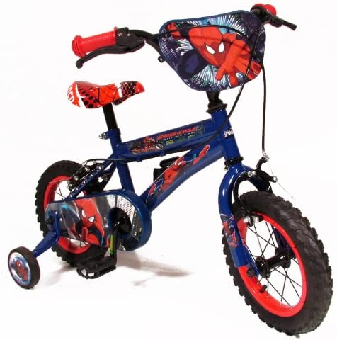Universal Ultimate Spiderman - Bicicleta Infantil para niño, 2-5 ...