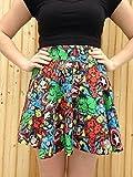 Marvel Comics Vintage Style Circle Skirt