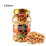 Zeroyoyo Cichlid Turtle Flowerhorn Carnivore Fish Food Freeze Dried Shrimp Antartic Krill 1L/3.5L
