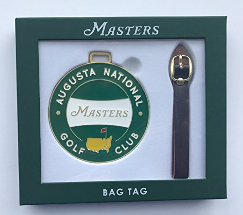2018 Masters golf Bag Tag augusta national pga new (Pga Masters Tournament)