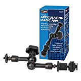 Adjustable Articulating Friction Magic Arm 7 Inch for DSLRs Camera Rigs, LED Lights, Flashes, LCD Monitors